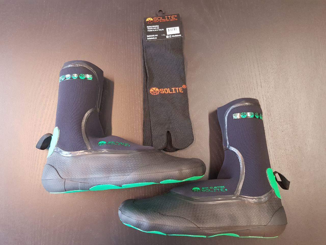 solite wetsuit boots