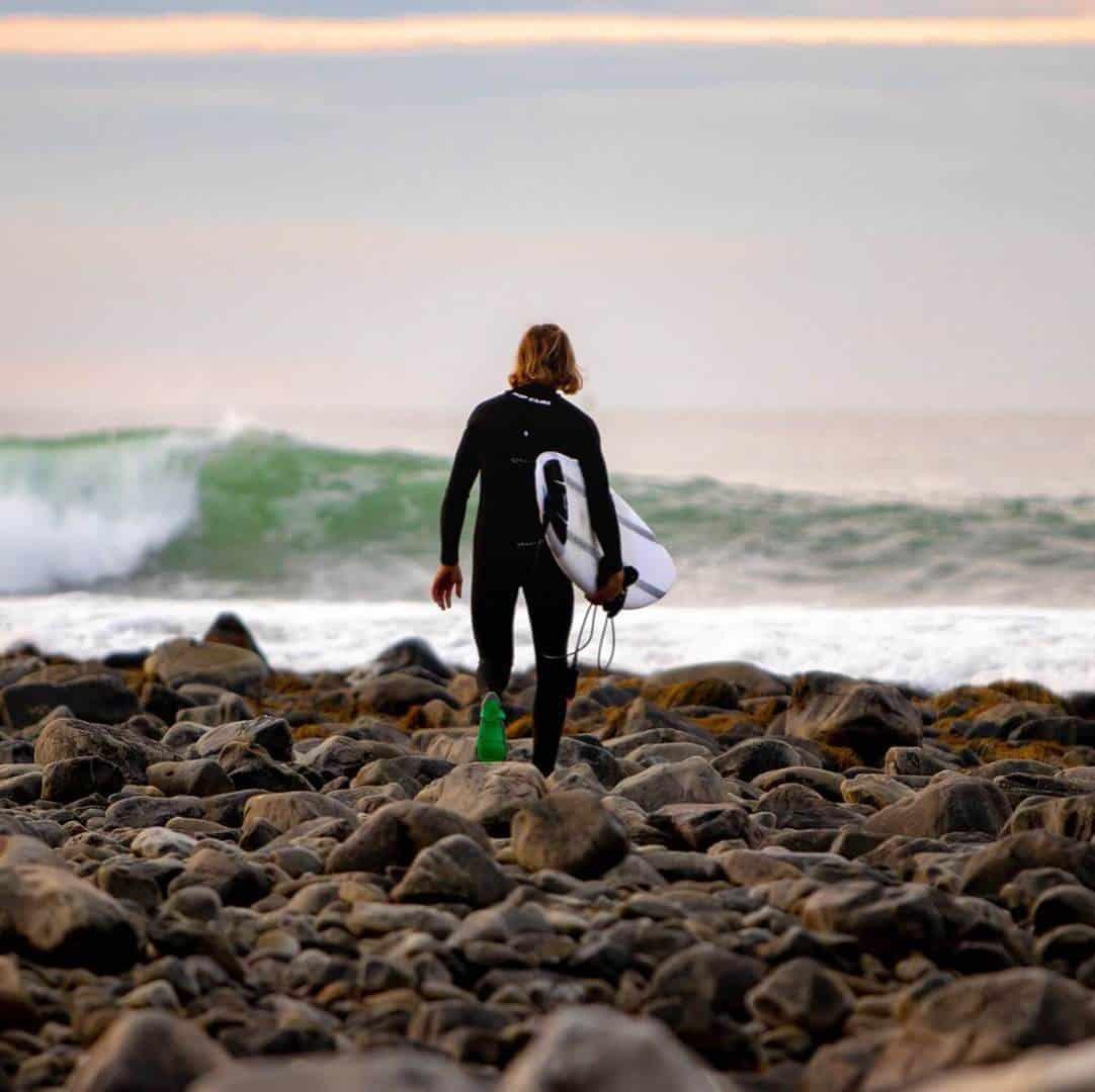 escarpines surf decathlon