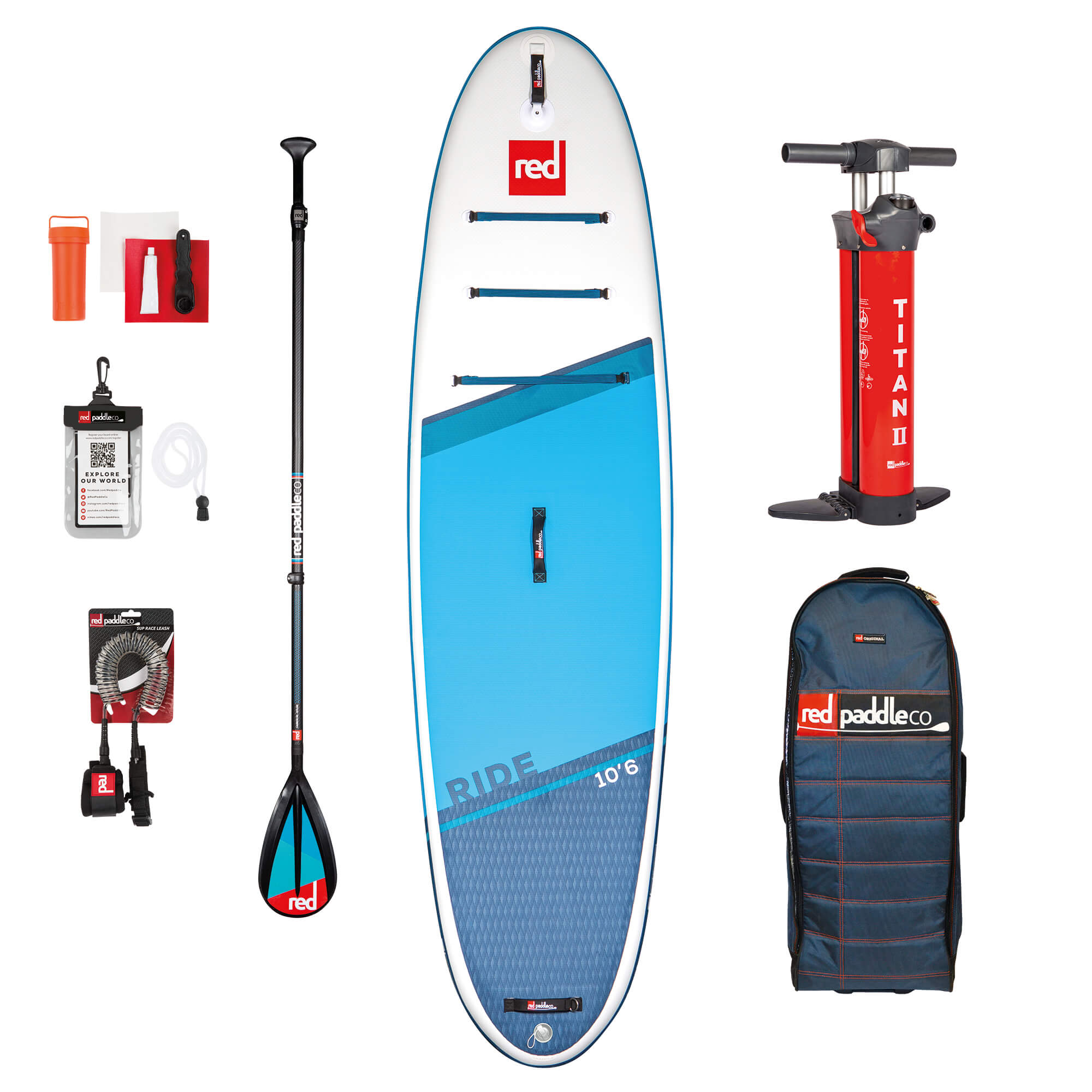 red paddle sup