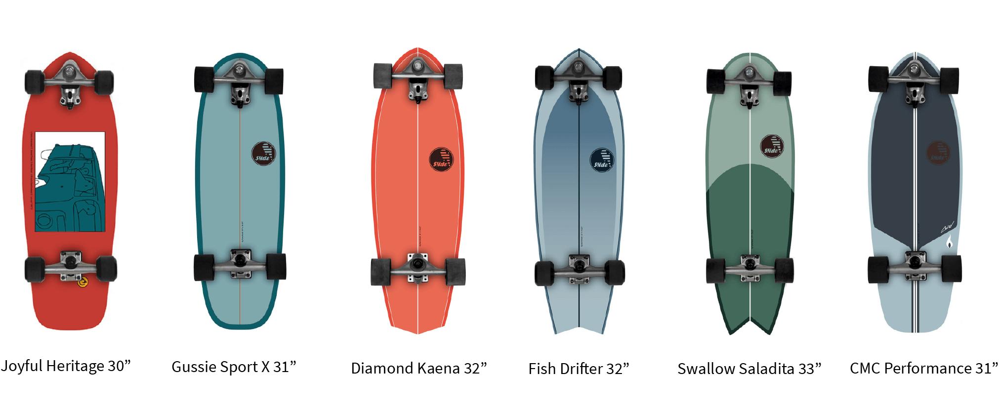 Nueva Colección Slide 2021 SurfSkate