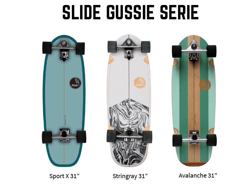 Gussie Serie Slide, disponible en Singlequiver.com
