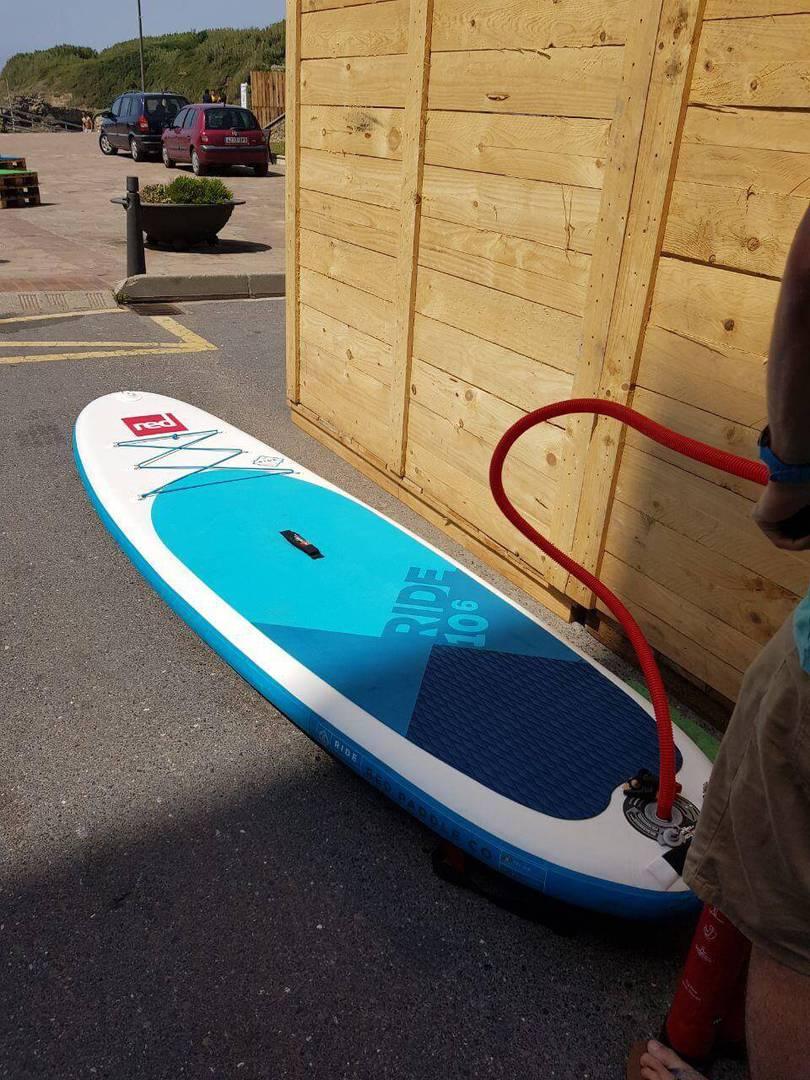 hinchar paddle surf