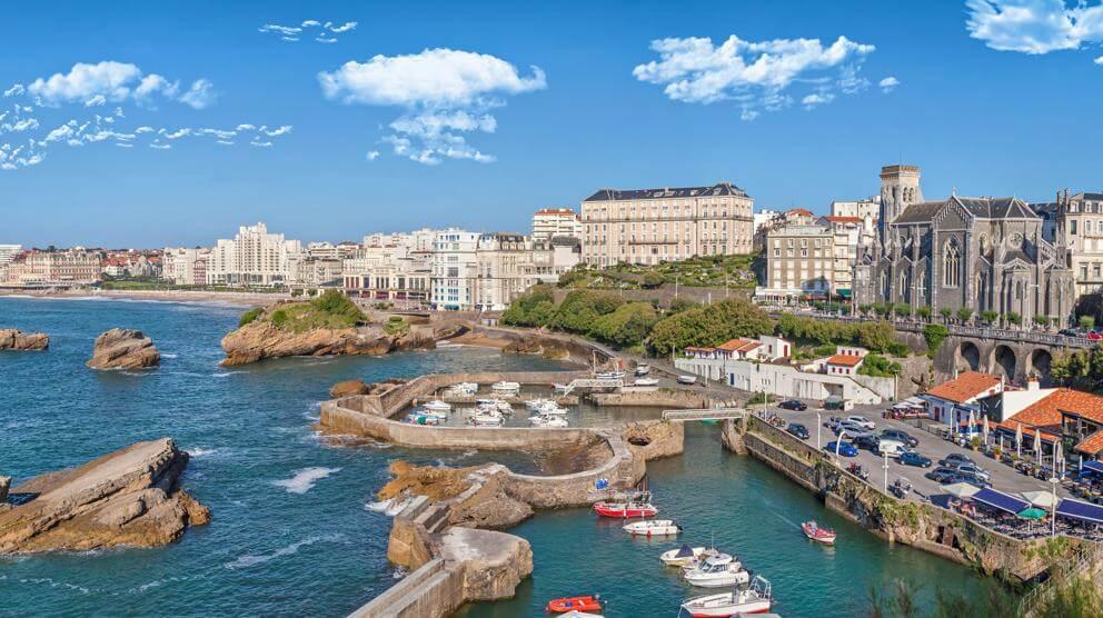 donde dormir biarritz