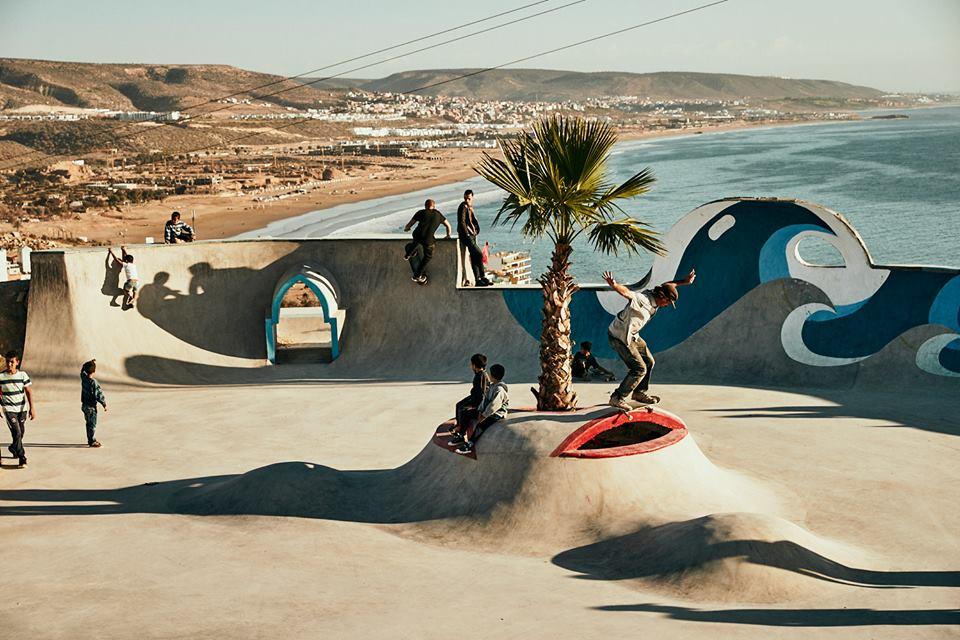 Tanghazout skatepark