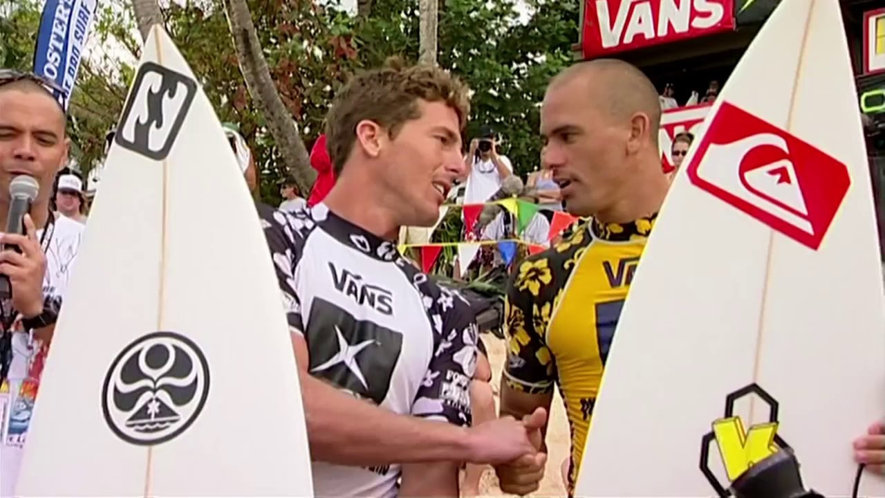 Andy Irons y Kelly Slater