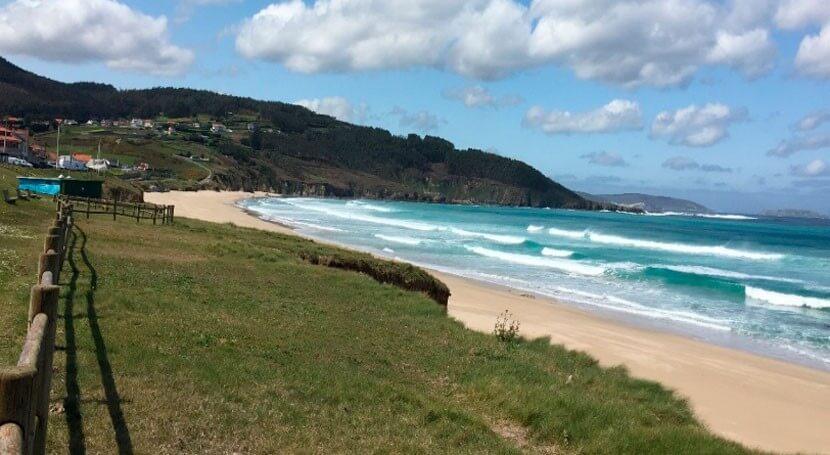 Playa de Razo Galicia