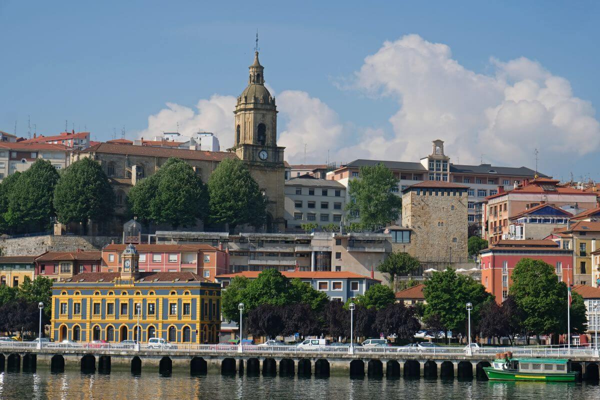 portugalete iglesia
