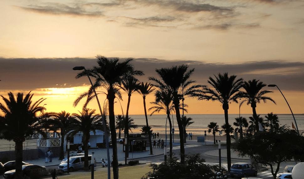Atardecer en Sanlúcar Cádiz