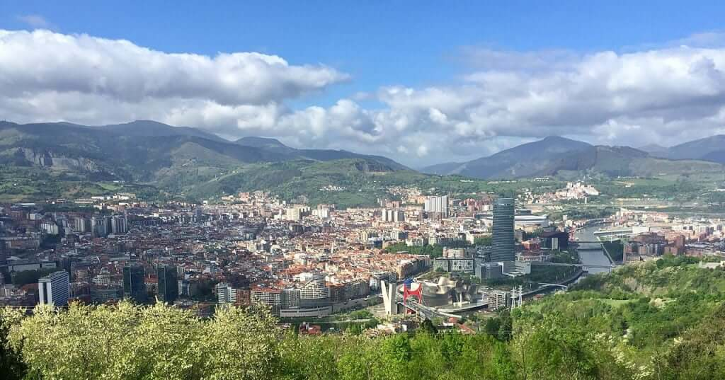 Vista de Bilbao desde Artxanda
