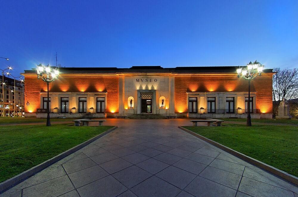 Fachada del Museo de Bellas Artes Bilbao
