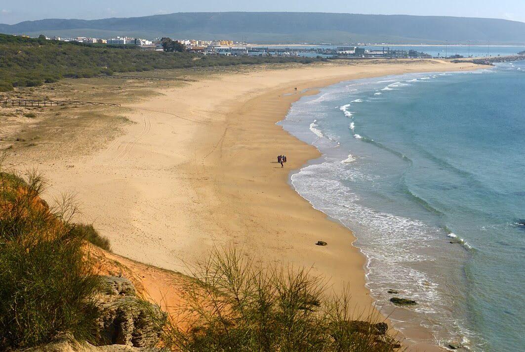 Playa de la Hierbabuena Cádiz