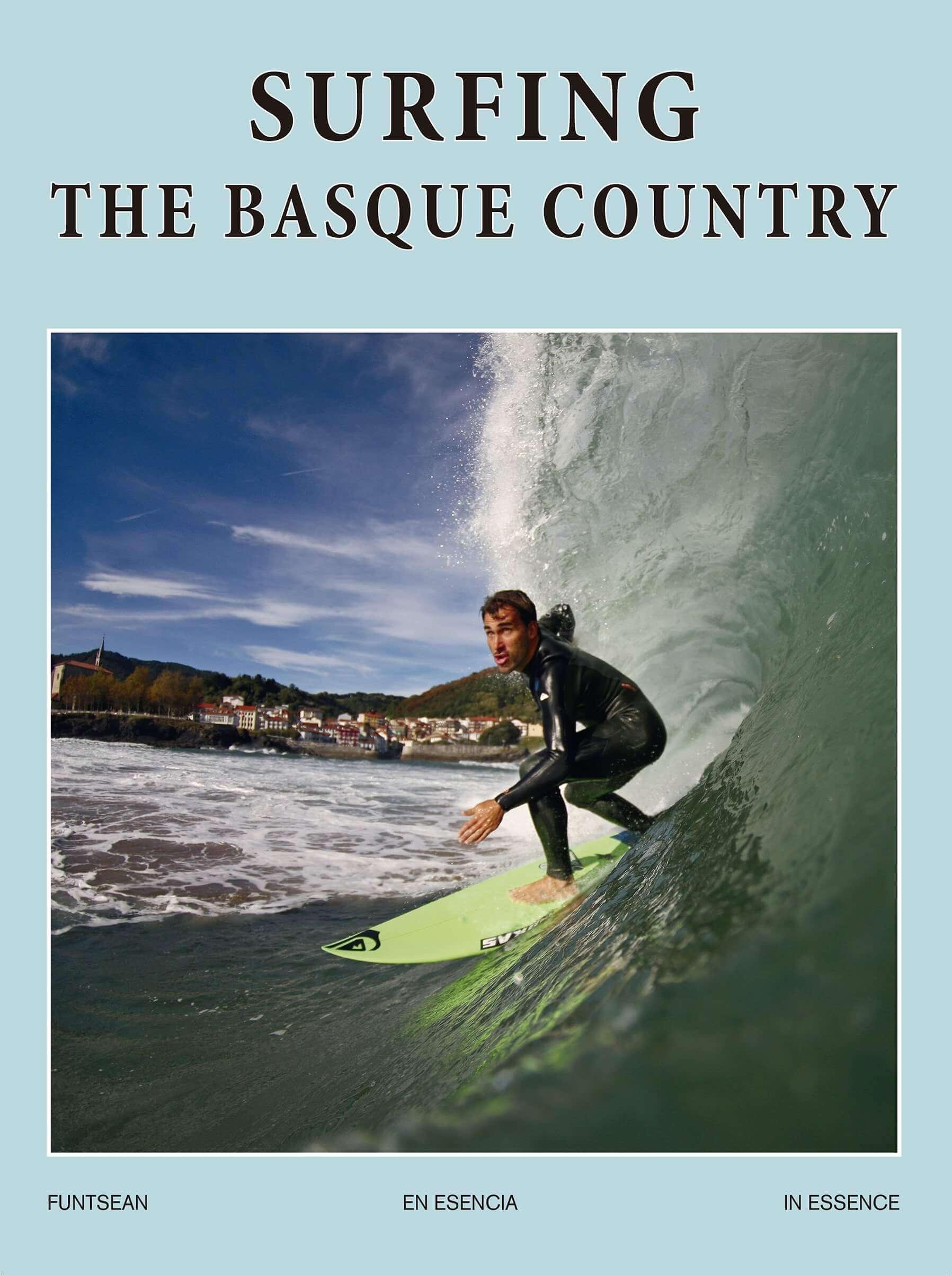 Portada del libro Surfing the Basque Country