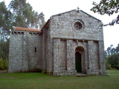 Iglesia de San Miguel de Breamo Galicia