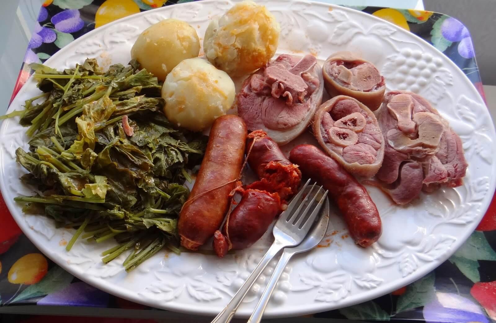 Lacon con grelos Galicia