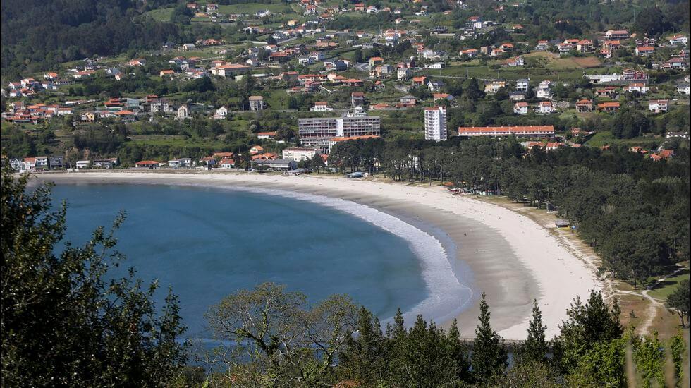 Playa de la Cabañas Galicia