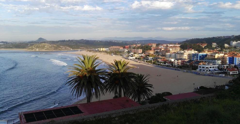 Playa de la Concha Suances Cantabria