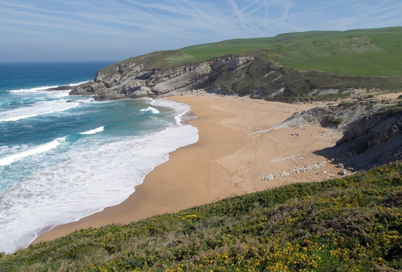 Playa de Tagle Suances Cantabria