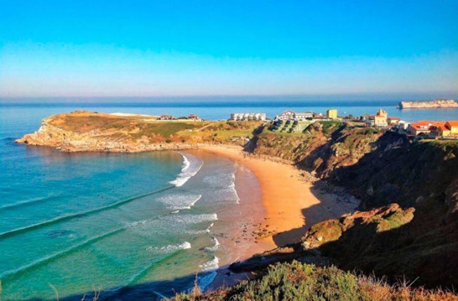 Surf Suances Cantabria Olas