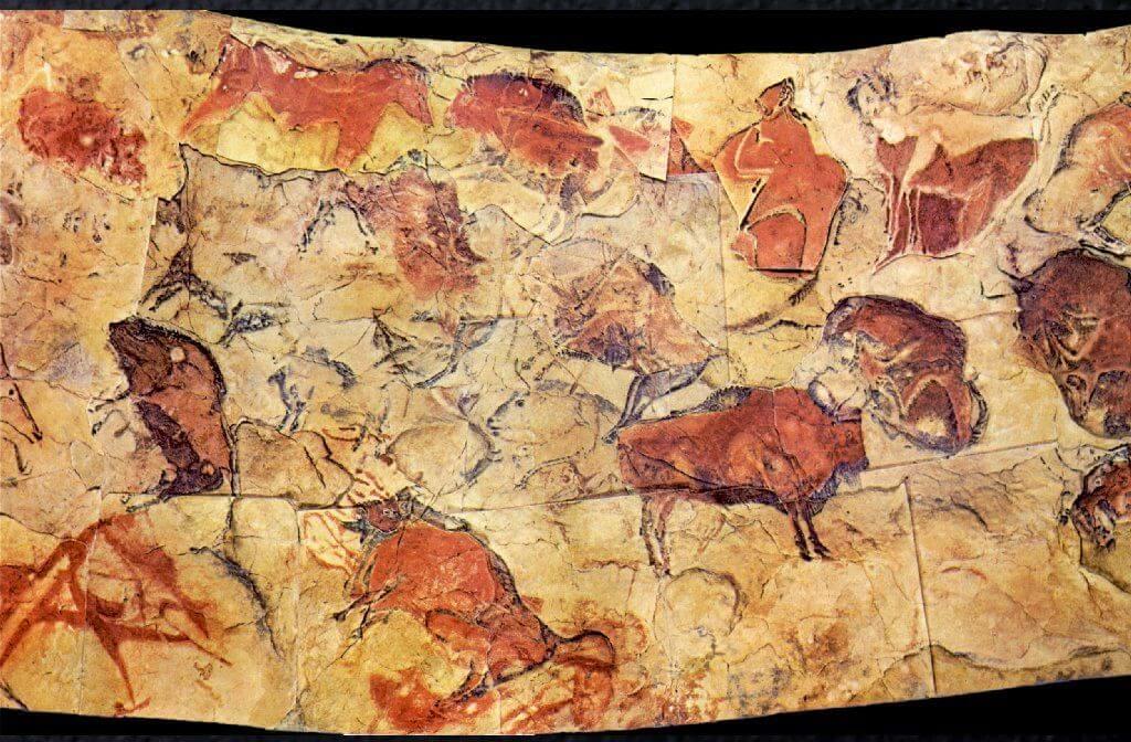 bisontes cuevas de altamira cantabria