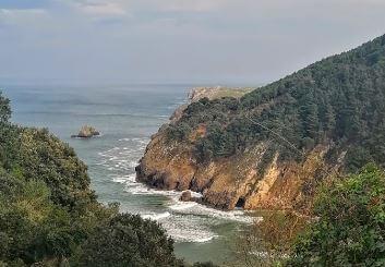 Desembocadura del nansa cantabria