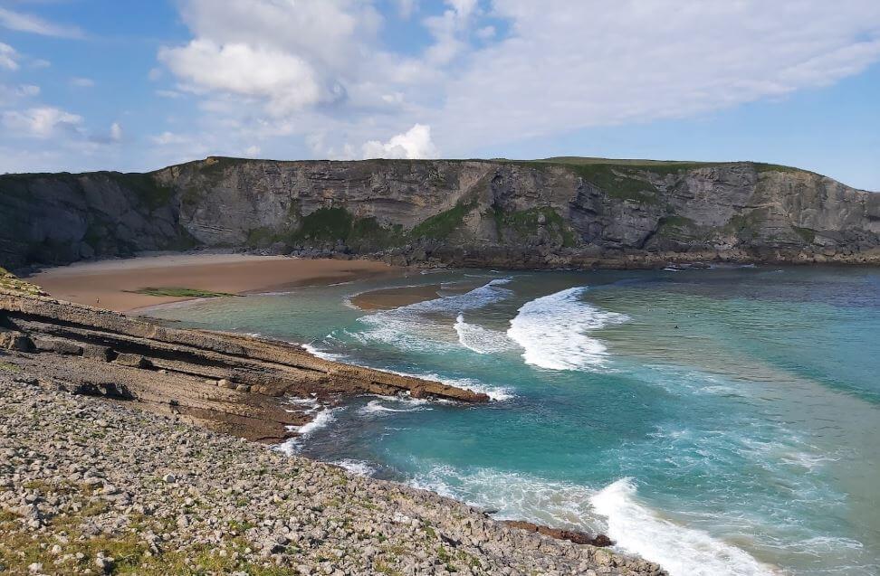 Playa de Cuberris Cantabria Ajo