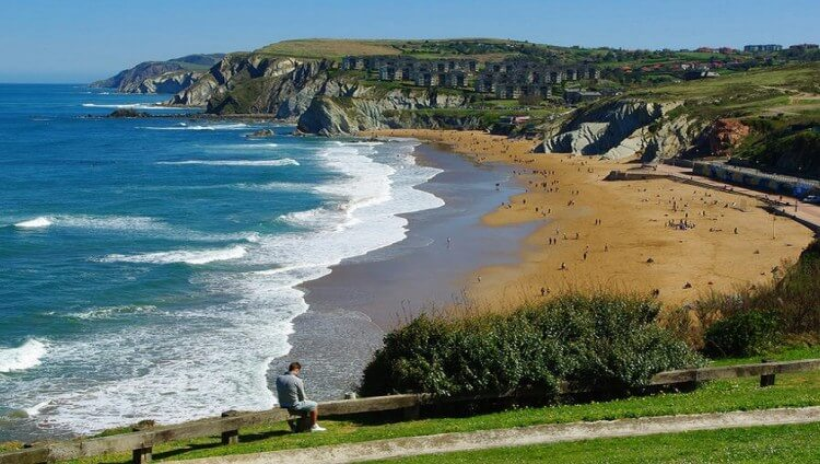 Playa de sopela Arrietara