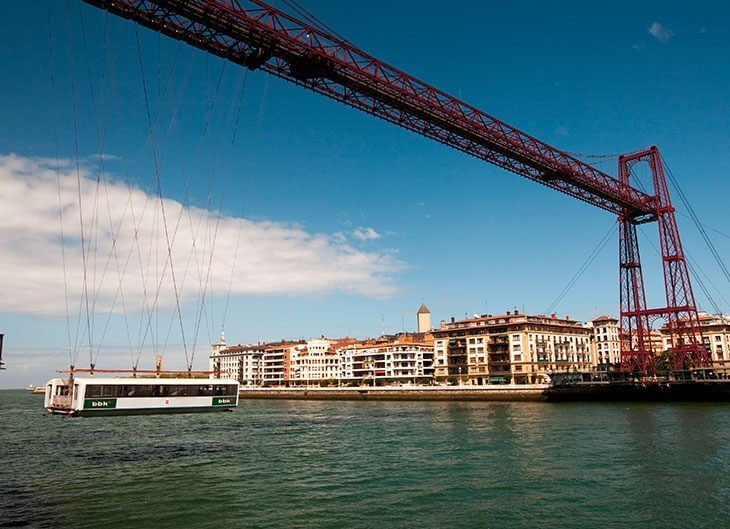 Puente Colgante Portugalete Bizkaia