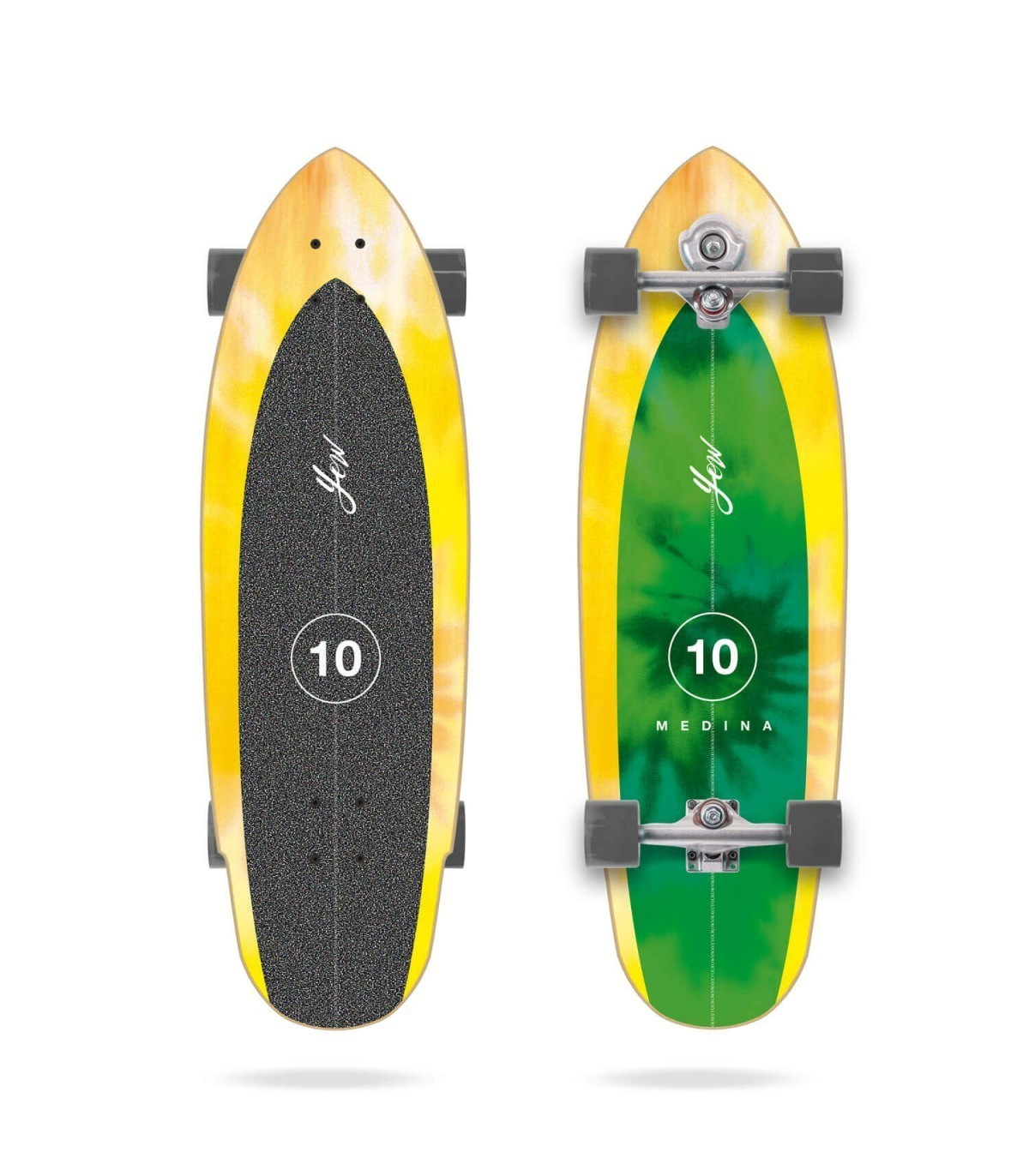 "YOW MEDINA TIE DYE 33"" SURFSKATE"