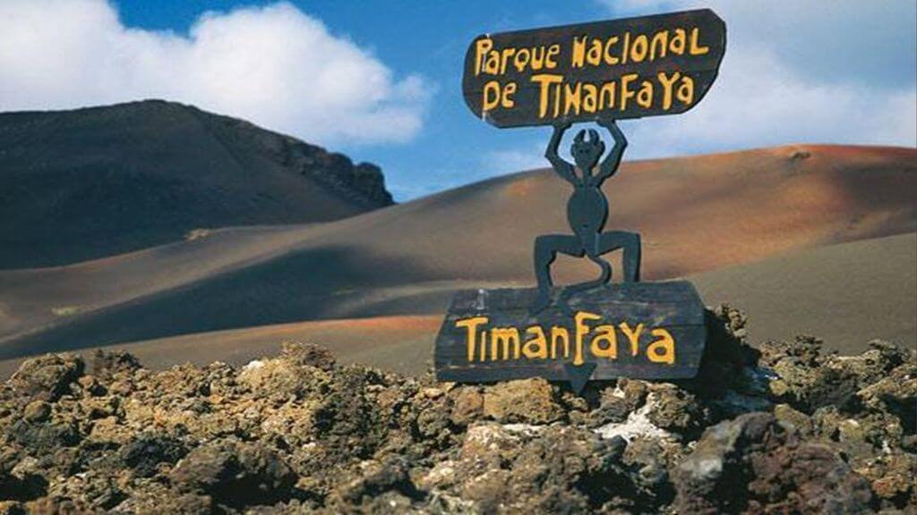 parque nacional de TIMANFAYA lanzarote canarias