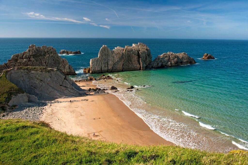 playa de arnia cantabria
