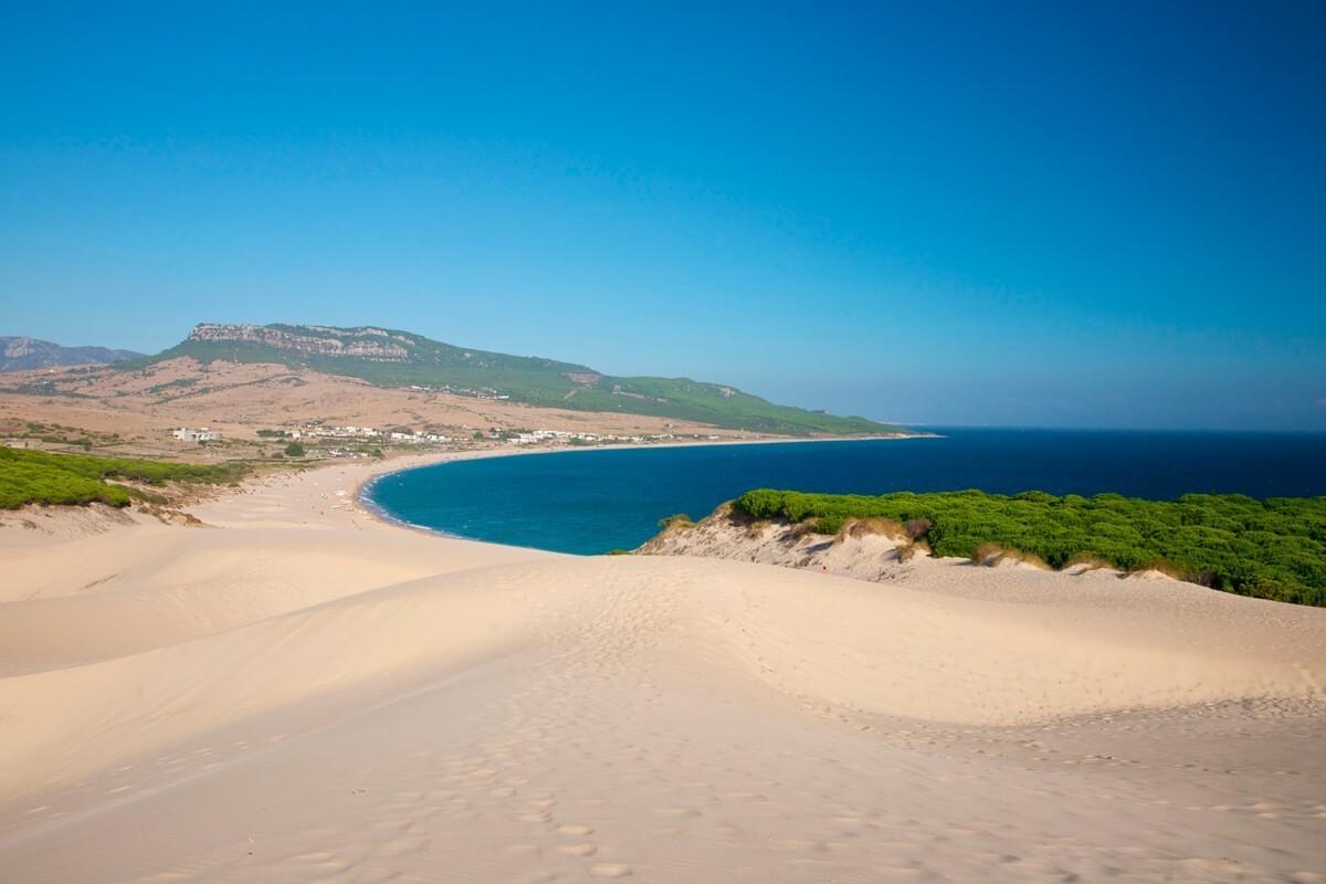 Playa de Bolonia cadiz andalucia