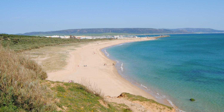 playa de la yerbabuena barbate andalucia