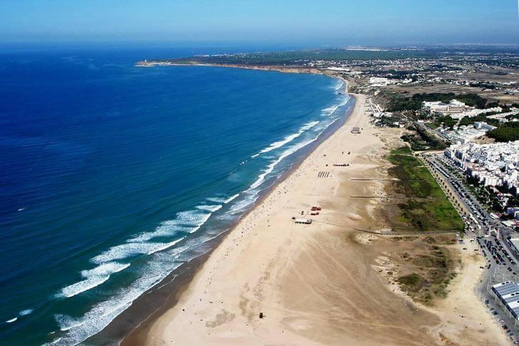 playa de los bateles conil de la frontera