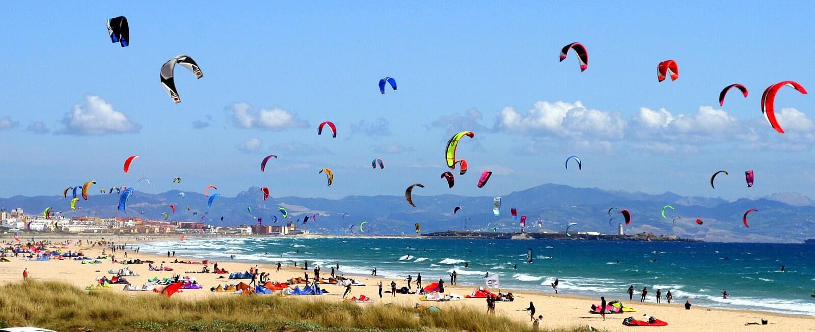 Playa de Valdevaqueros Kite Surf Cadiz Andalucia