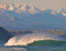 San Vicente de la Barquera olas