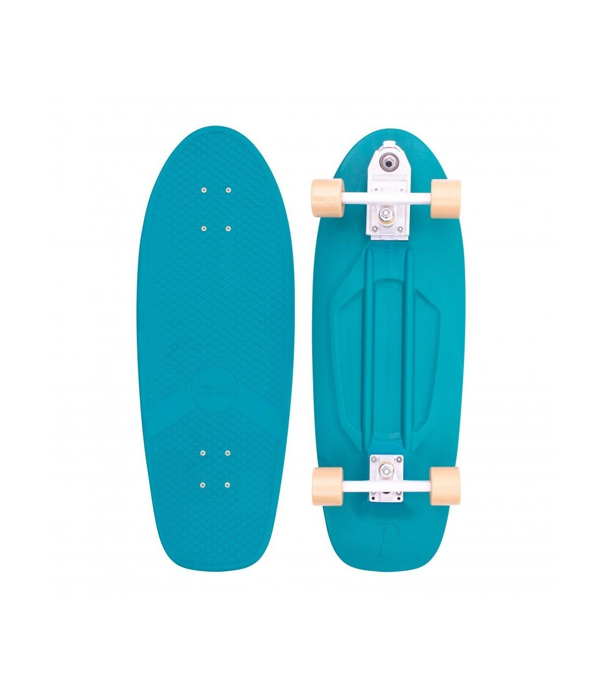 penny board turquoise