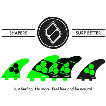 SHAPERS SURF BETTER
